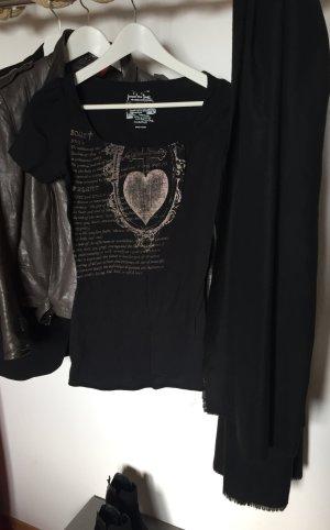 Elegantes Shirt mit Print in dezenten Farben