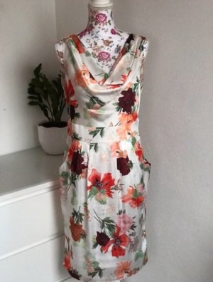 Elegantes Sommerkleid mit Blumenprint