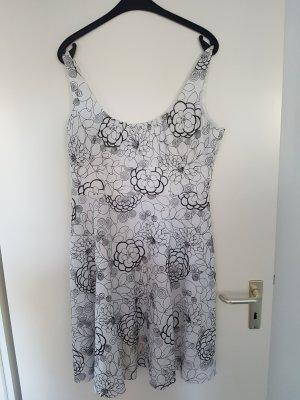 Elegantes Sommerkleid weiß, Gr. 42/44