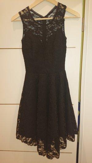 Vestido de encaje negro