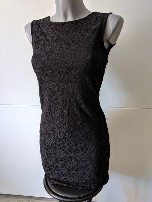 elegantes spitzenkleid minikleid bodycon Kleid von pieces Größe XS 34