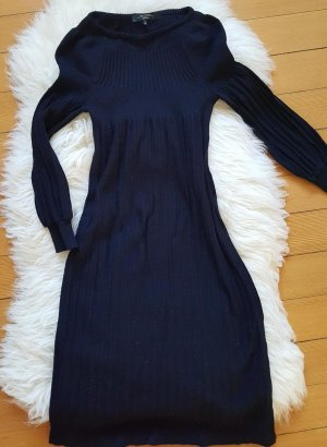 Elegantes Strickkleid Max Mara Weekend dunkelblau navy Gr. 34/36 S Wolle Business