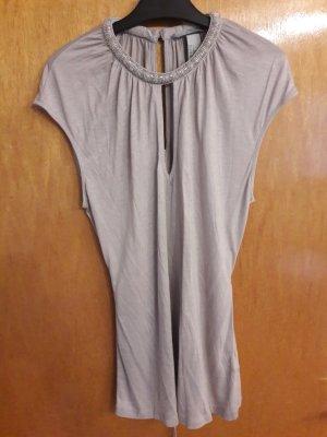 H&M Blusa senza maniche beige chiaro