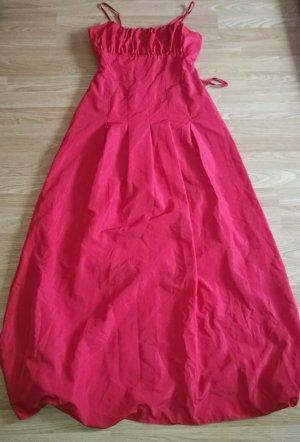 elegantes Xanaka Night Abendkleid Taftkleid rot Gr. 40