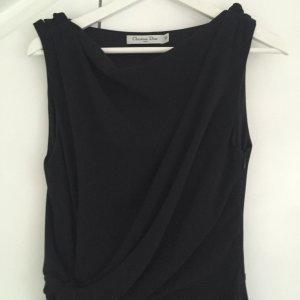 Eleganz pur: DIOR Kleid, nur 2x getragen, Größe s, schwarz, Seide
