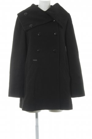 Element Coats Heavy Pea Coat black casual look