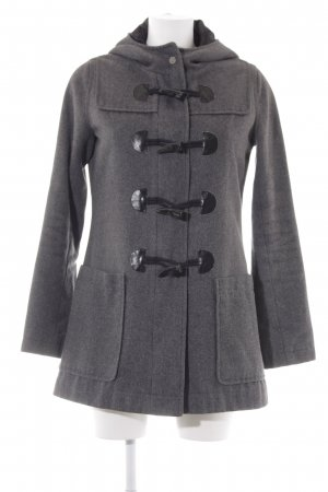 Element Coats Kapuzenmantel dunkelgrau Casual-Look