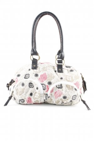Element Handtasche florales Muster Casual-Look
