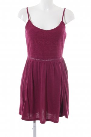 Element Jerseykleid magenta-purpur meliert Beach-Look
