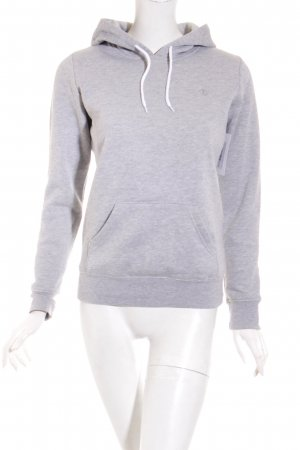 Element Kapuzenpullover hellgrau meliert Casual-Look