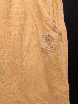 Element Robe épaules nues jaune-jaune primevère