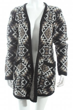 Element Strickjacke Aztekenmuster