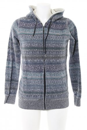 Element Sweatjacke grafisches Muster Casual-Look