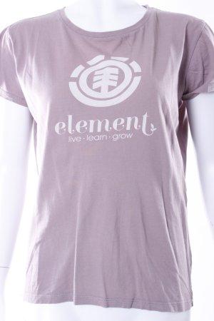 Element T-Shirt flieder