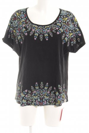 Element T-Shirt Motivdruck Boho-Look