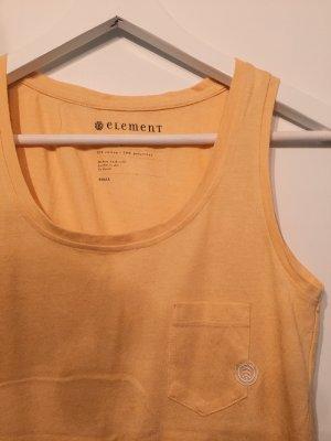 Element Top de tirantes finos amarillo