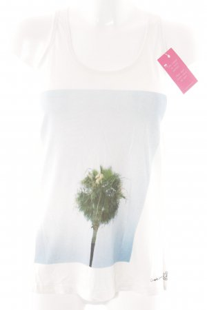 Element Tank Top placed print casual look