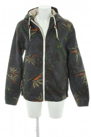 Element Übergangsjacke florales Muster Casual-Look