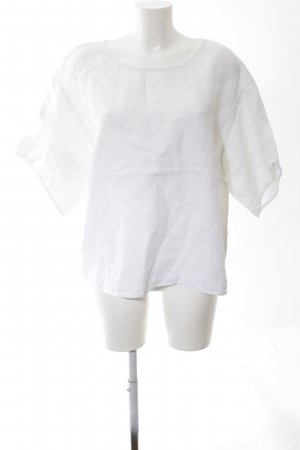 Elemente Clemente Linen Blouse white business style