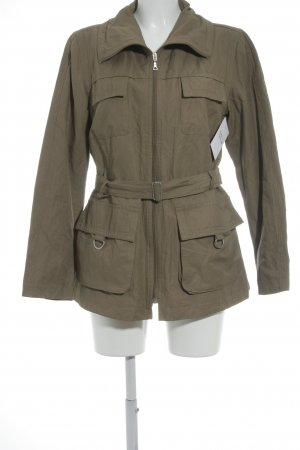 elements by TAIFUN Collection Lange Jacke braun Casual-Look