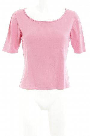 elements by TAIFUN Collection Strickshirt rosa Casual-Look