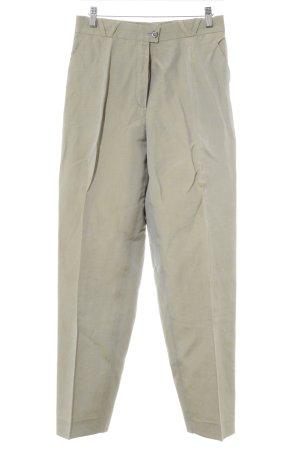 Elements Escada Pantalone da abito cachi puntinato stile professionale