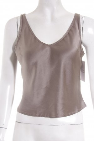 Elements Escada Seidentop taupe Casual-Look