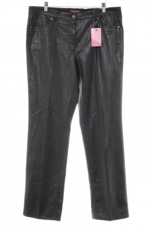 Elements Stoffhose dunkelbraun Animalmuster Reptil-Optik