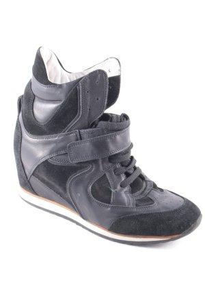 Elena Lachi Absatz Sneaker schwarz sportlicher Stil