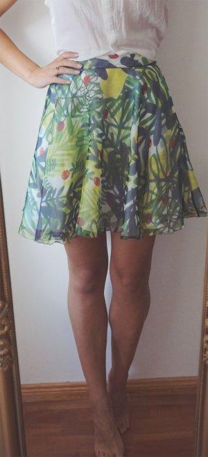 Eleonora Carisi x Zalando Rock 100% Seide grün Mini Luxus Premium Designer XS 34