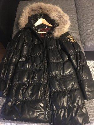 Eleven Elfs Jacke Mantel schwarz Größe 36/S
