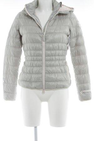 Eleven Elfs Steppjacke hellgrau-rosé Street-Fashion-Look