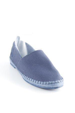 Eleven Paris Espadrille Sandals dark blue-steel blue street-fashion look