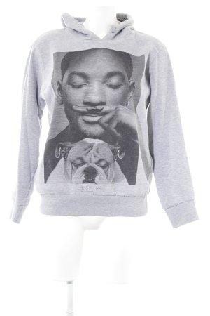 Eleven Paris Capuchon sweater prints met een thema casual uitstraling