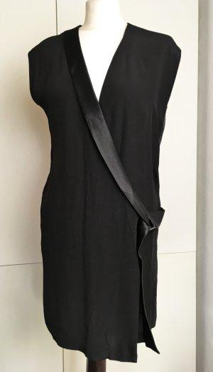 Eleven Paris Robe portefeuille noir polyester