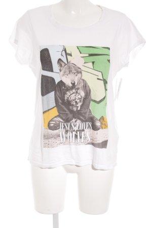 Eleven Paris Print-Shirt mehrfarbig sportlicher Stil
