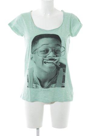 Eleven Paris T-shirt lichtgroen casual uitstraling