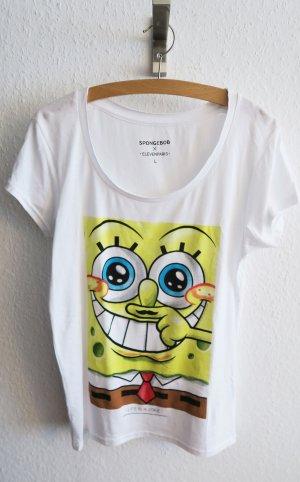 Eleven paris T-shirt Spongebob L