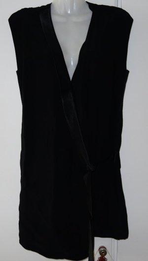 Eleven Paris Wickelkleid Gr. S/M (38) schwarz Lagenlook Avantgarde