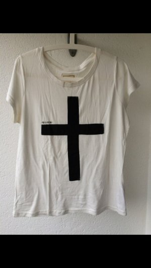 Eleven Paris Shirt wit-zwart