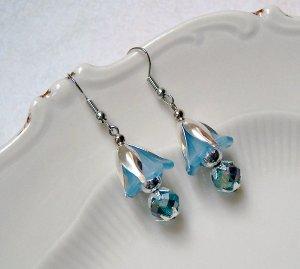 ✼Elfenblüte✼ Zauberhafte Ohrringe Silber Blau