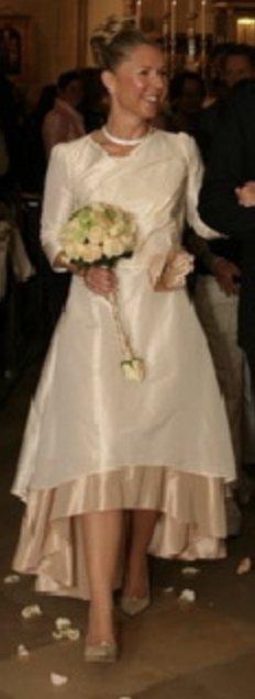 Elfenkleid Brautkleid mit Jacke
