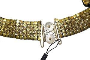 Cinturón de cadena color oro metal