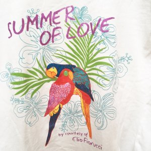 Elio Fiorucci H&M Poolside - Summer of Love T-Shirt 34 XS