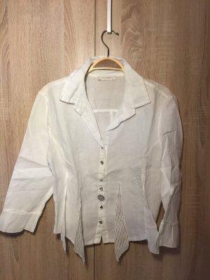 Elisa Cavaletti Linnen blouse wit