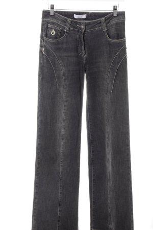 Elisa Cavaletti Jeans bootcut gris foncé style décontracté