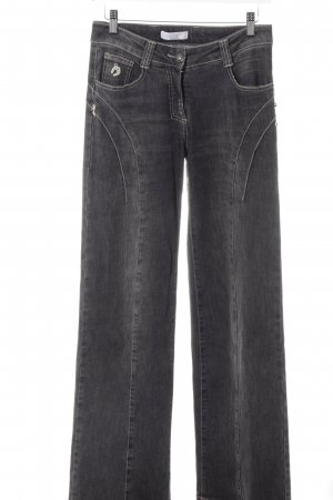 Elisa Cavaletti Boot Cut Jeans dunkelgrau Casual-Look