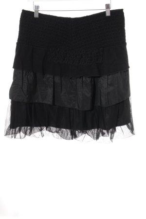 Elisa Cavaletti Faltenrock schwarz klassischer Stil