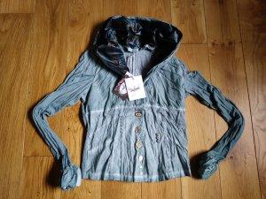 Elisa Cavaletti Shirt Jacket slate-gray-turquoise
