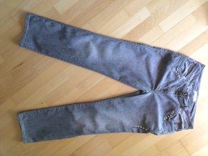 Elisa Cavaletti Jeans graugrün Größe W28-38